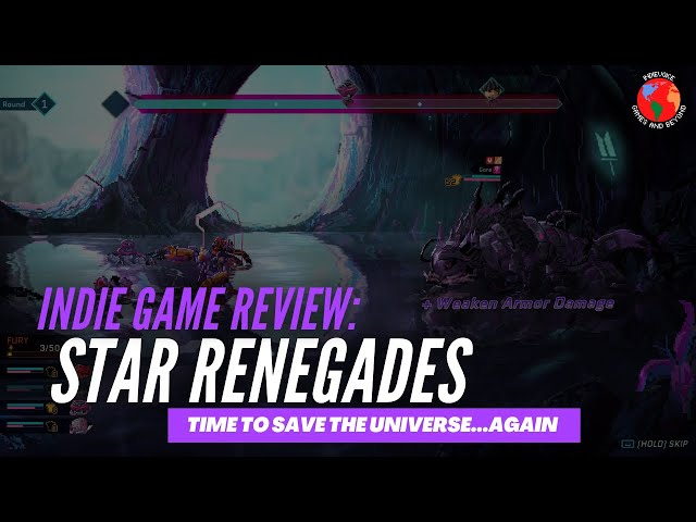 Indie Game Review: Star Renegades - Time to Save the Universe...Again