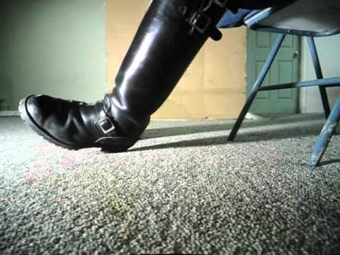 Clean And Shiny >> Wesco Boots- clean and shiny - YouTube