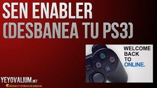 PS3 - Cómo Desbanear tu PlayStation 3 [SEN ENABLER 4.53]