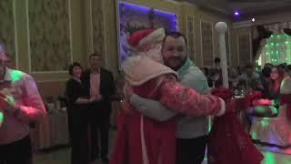 Дед Мороз и Снегурочка  Встреча Нового года в кафе Ветерок  Город Вязьма