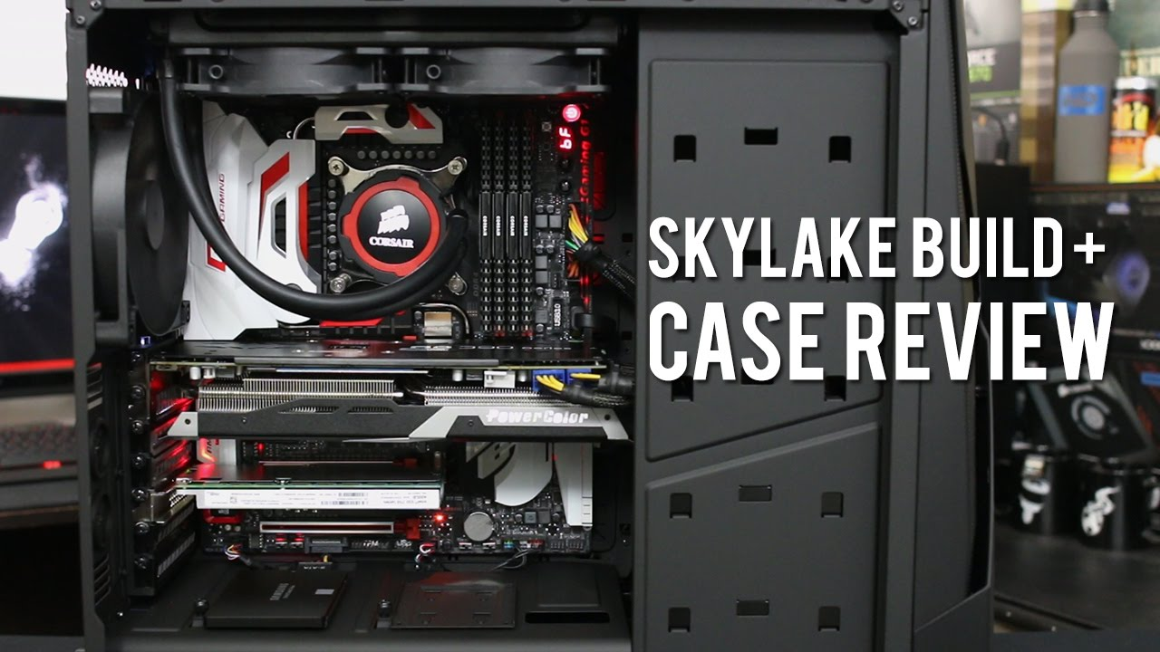 high end skylake gaming pc in the noctis 450 from nzxt. Black Bedroom Furniture Sets. Home Design Ideas