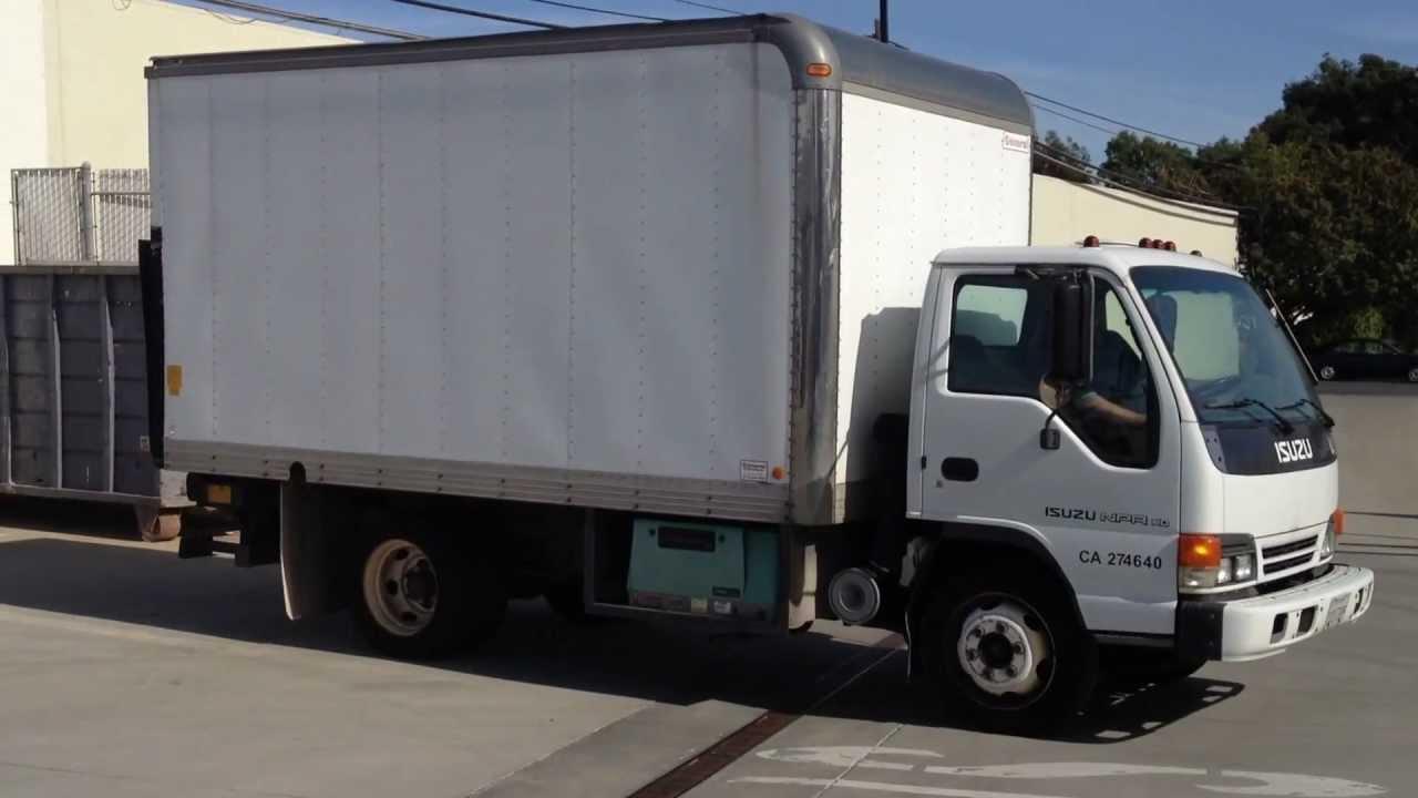 1999 Isuzu NPR Box Truck W/Onan Generator
