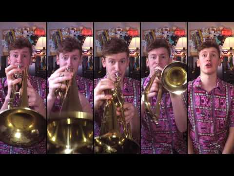 Queen - Don't Stop Me Now for Brass Quintet with sheet music