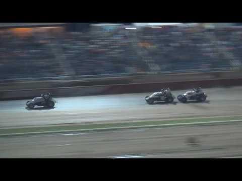 Lucas Oil Speedway Hockett McMillianMemorial WAR Sprints