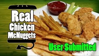 McDonald's Real Chicken McNuggets Recipe Remake - HellthyJunkFood