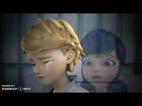 Adrien crying for Marinette