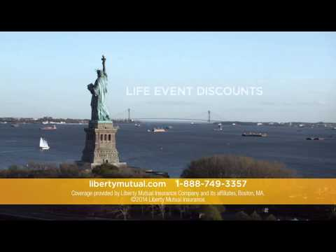 Liberty Mutual Insurance TV Commercial   Life Event Discounts call 7564654663477