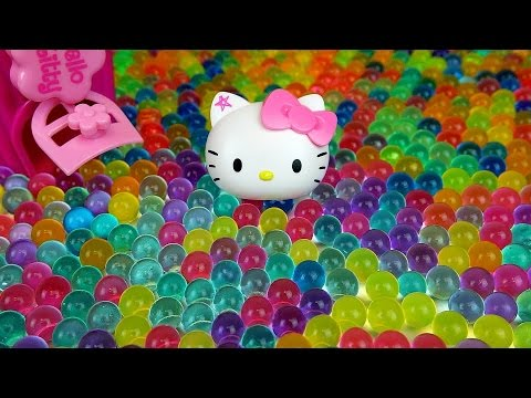 Thumbnail: Baby doll and Orbeez Hello Kitty toys & more Kinder Joy Surprise eggs