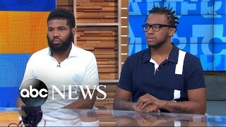 Men arrested at Starbucks speak out