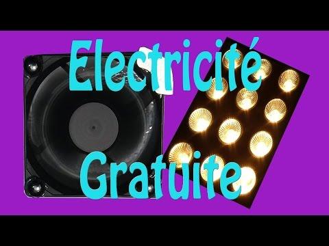 Electricité gratuite, montage