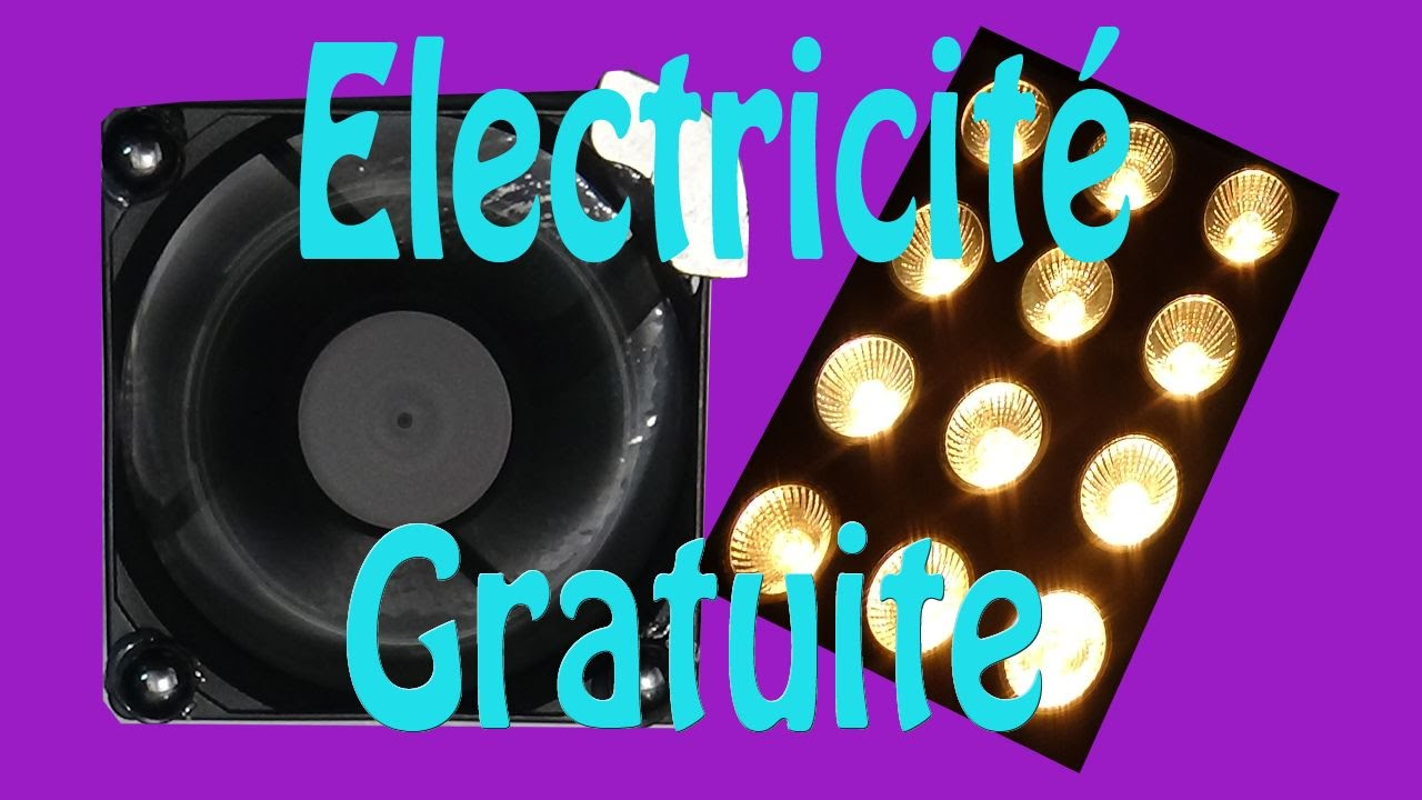 Electricit gratuite montage tr s simple youtube - Electricite gratuite avec multiprise ...