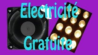 Electricité gratuite, montage très simple