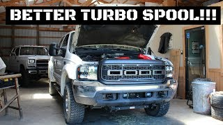 7.3 POWERSTROKE GETS MUCH NEEDED UPGRADE!!! PUSHER INTAKE MANIFOLD!!!