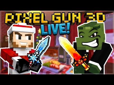 LIVE NOW! USING SUBSCRIBER SUGGESTED WEAPONS!! | PIXEL GUN 3D