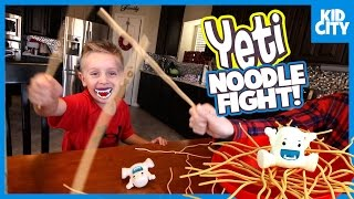 Family Fun Games for Kids - Yeti, Spiderman & Pie Face Board Game Compilation