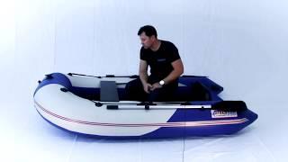 СТЕЛС 255 - Обзор самой маленькой килевой лодки.