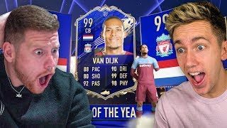 THE SIDEMEN PACK VAN DIJK - TOTY PACK OPENING