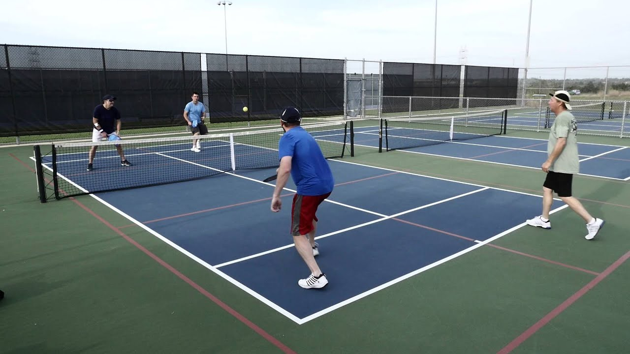 Pickleball at Austin Tennis Center - Part 1 - YouTube