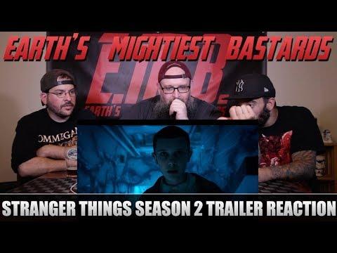 Trailer Reaction: Stranger Things Season 2 SDCC Thriller Trailer