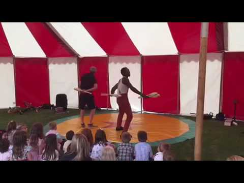 Download Wedding circus performers and Big Top Hire available worldwide - Lucas Jet & Oneface Mapacha
