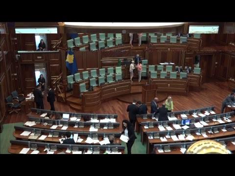 Drejtpërdrejt nga seanca e Kuvendit