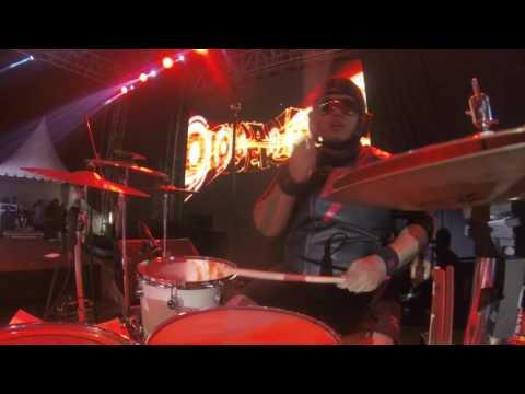 THE SUPER SAS - BADAJIDINGADAN (Drum Cam)