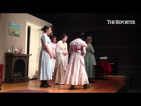 Christopher dock Mennonite high school students perform their spring drama Little Women in the Cleme