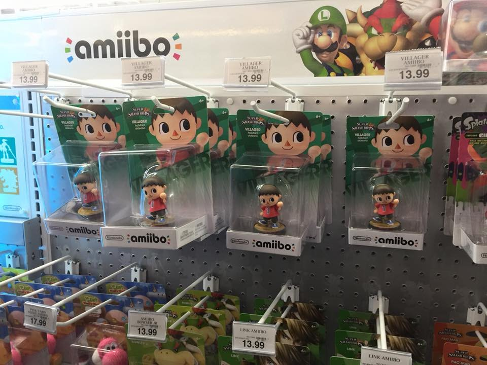 Villager Amiibo Stock At Toys R Us Nov 8 2015 Youtube