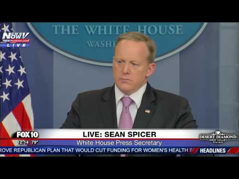 WOW: Heated Exchange Between Sean Spicer And Reporters Over Ethics FNN