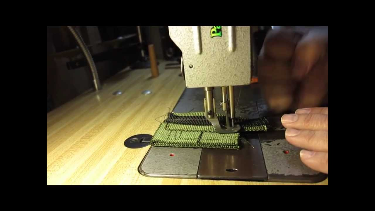 sewing machine for webbing