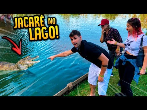 FUI NO LAGO DO JACARÉ AQUI DA MINHA CIDADE!! [ REZENDE EVIL ]