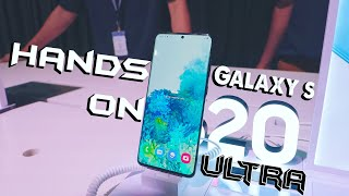 Samsung Galaxy S20+ and S20 Ultra Hands on video | Price Update