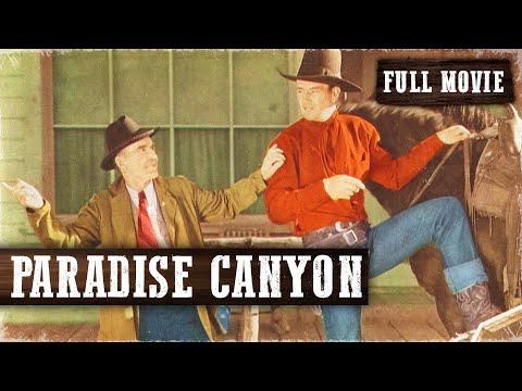 PARADISE CANYON | John Wayne | Full Length Western Movie | 720p | HD | English