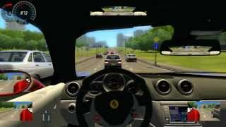 Ferrari California City Car Driving Simulator HD1080P Gameplay