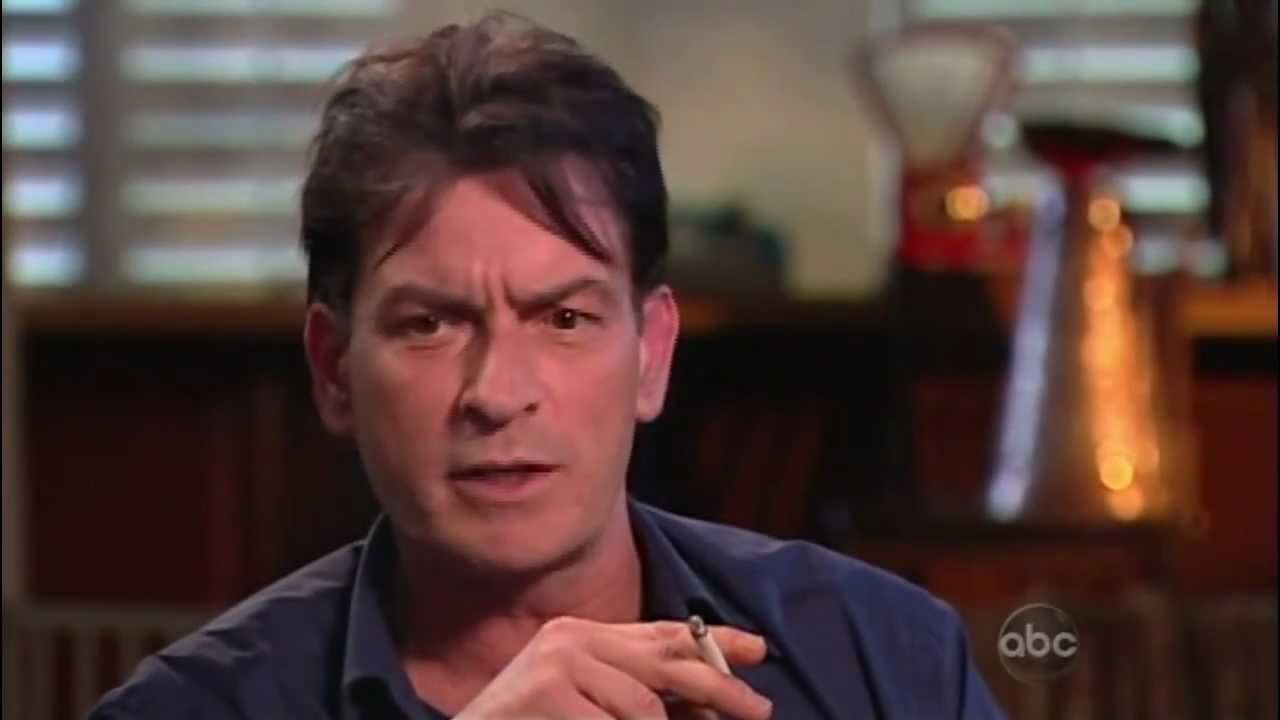 Charlie sheen is gay