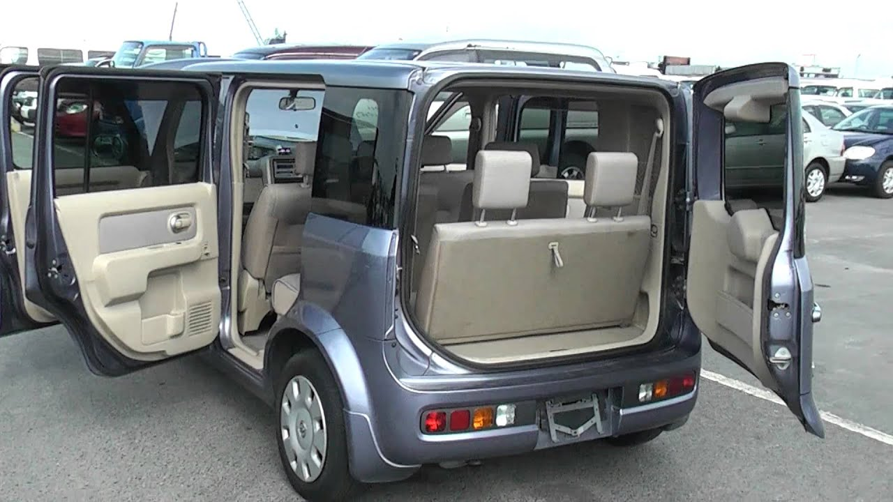 Nissan Cube Cubic 7 Seater Bargain Price Edward Lee S Youtube