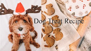 Homemade Holiday Dog Treats | Recipe |  Archie & Alfred The Cavapoos