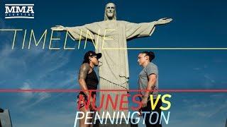 UFC 224: Amanda Nunes vs. Raquel Pennington Timeline - MMA Fighting