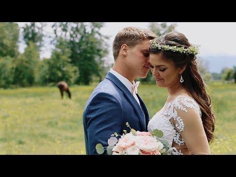 Burke + Emily Burgess || Montana Wildflower Weddings Highlight Film in Red Lodge, MT