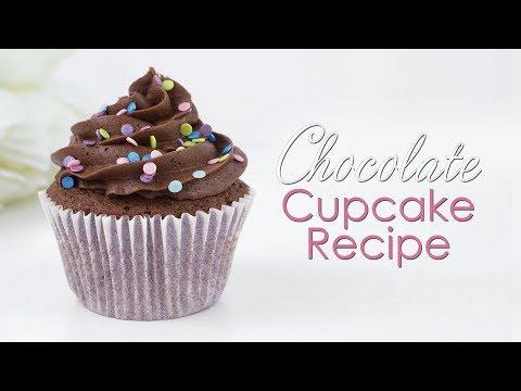 Chocolate Cupcake & Chocolate Buttercream Recipe