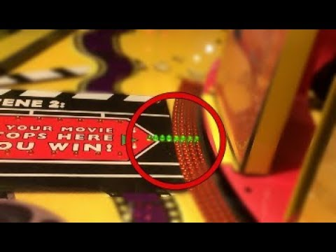 Won the Jackpot Gift Card at Movie Stop Arcade Game! | JOYSTICK