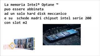 che cosa è intel optane, come velocizzare gli hard disk  meccanici