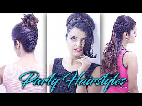 3 Party Hairstyles | Formal Hairstyles