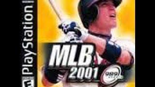 MLB 2001 PlayStation gameplay