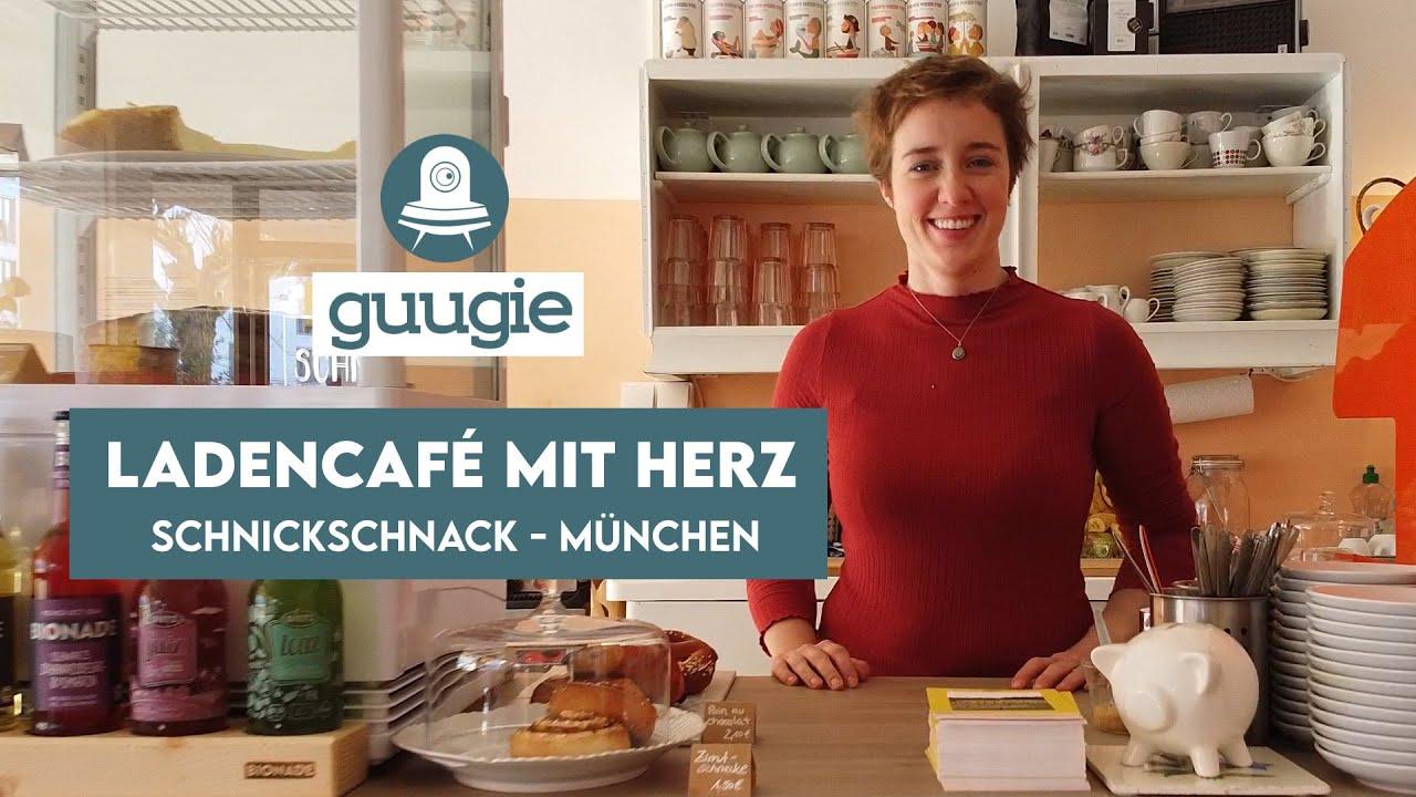 """""""Der einzige und beste Rooibos Cappuccino in Obersendling"""". Das SCHNICKSCHNACK. Ladencafé."""