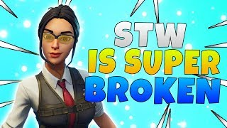 Fortnite Save The World Is Completely Broken Fortnite Save The World News