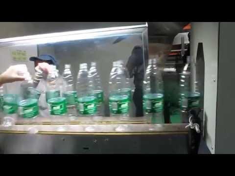 PET Empty Bottle PVC shrink label sleeve labeling machine