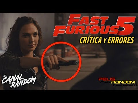 Movie Mistakes Fast and Furious 5 (Spanish Audio)