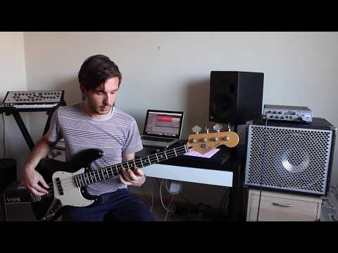 Introduction & Anchi Hoye (an Ethiopian Scale) on Electric Bass