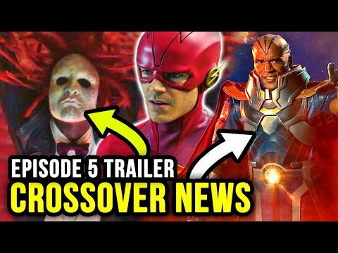 First Look at THE MONITOR & Ragdoll Arrives! - The Flash Season 5 Episode 5 Trailer